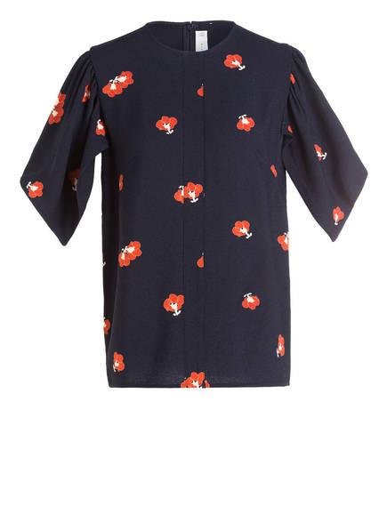 VICTORIABECKHAM Shirt, Farbe: NAVY/ ORANGE (Bild 1)