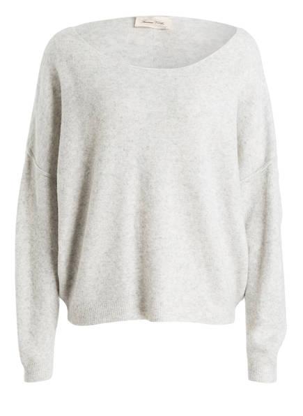 American Vintage Pullover DAM, Farbe: HELLGRAU MELIERT (Bild 1)