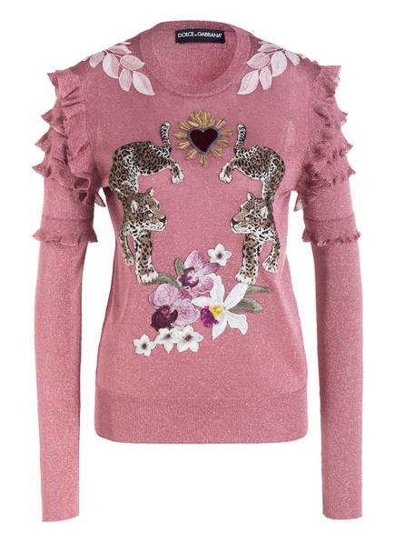 DOLCE&GABBANA Pullover , Farbe: ALTROSA METALLIC (Bild 1)