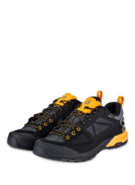 SALOMON Trailrunning-Schuhe X ALP SPRY GTX, Farbe: ANTHRAZIT/ SCHWARZ/ ORANGE (Bild 1)