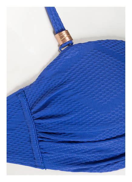 Cyell Deepblue Texture bikini Bandeau Blau top rgIqrw4
