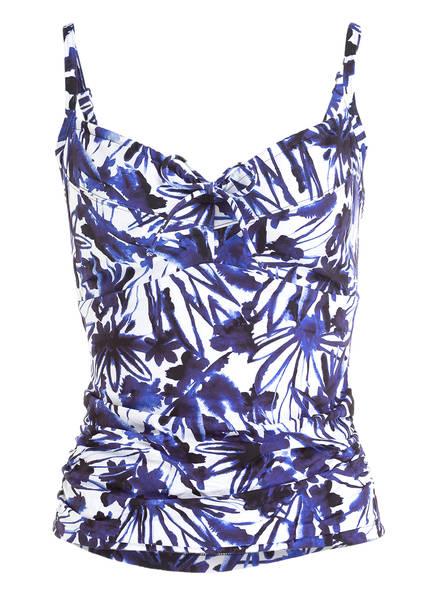 CYELL Tankini-Top SECRET GARDEN, Farbe: NAVY/ WEISS (Bild 1)