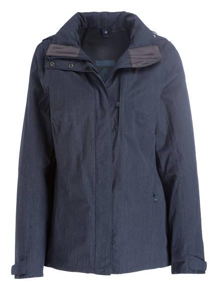 Schöffel Outdoor-Jacke FONTANELLA mit ZipIn!-Funktion, Farbe: MARINE MELIERT (Bild 1)