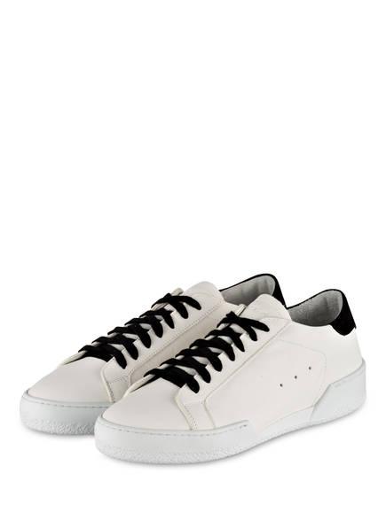 NO CLAIM Sneaker JOHN, Farbe: WEISS/ SCHWARZ (Bild 1)