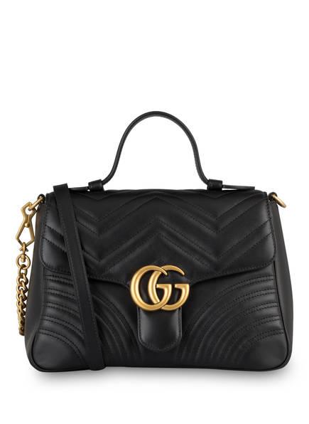 GUCCI Handtasche GG MARMONT SMALL, Farbe: SCHWARZ (Bild 1)
