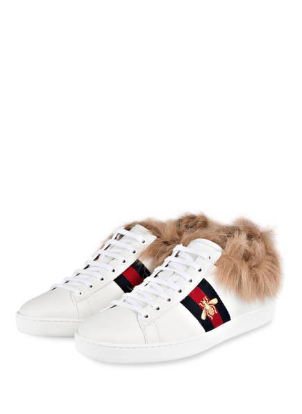 GUCCI Sneaker ACE , Farbe: WEISS (Bild 1)