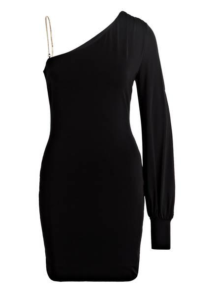 PATRIZIA PEPE One-Shoulder-Kleid, Farbe: SCHWARZ (Bild 1)