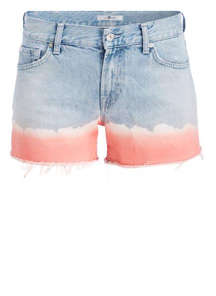 7 for all mankind Jeans-Shorts, Farbe: CORALBLEACH (Bild 1)