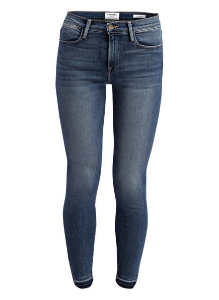 FRAME DENIM 7/8-Jeans LE HIGH SKINNY, Farbe: REVERE BLUE (Bild 1)