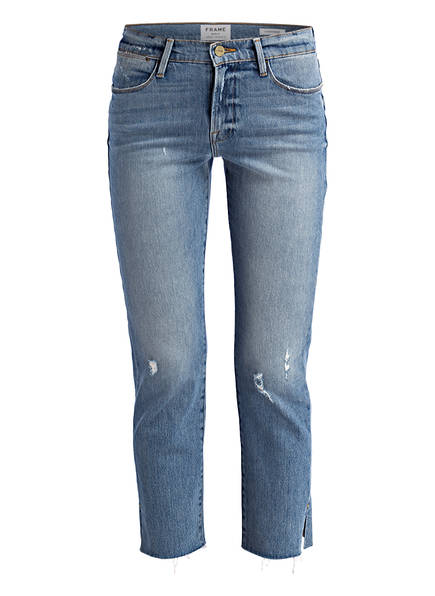FRAME DENIM 7/8-Jeans LE HIGH STRAIGHT, Farbe: SURREY BLUE (Bild 1)