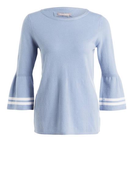 HEMISPHERE Cashmere-Pullover , Farbe: HELLBLAU/ WEISS (Bild 1)