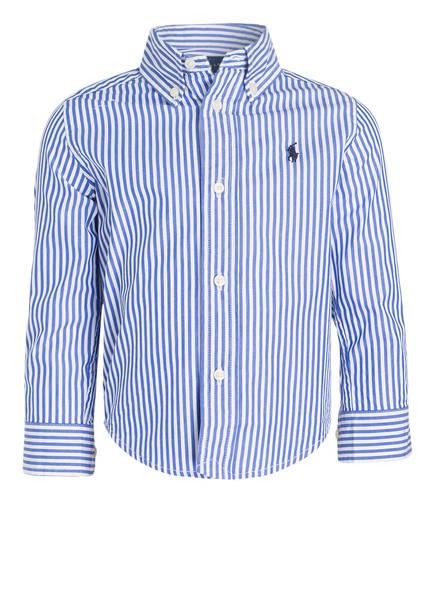f75a30bd0ef3a1 ... ireland polo ralph lauren hemd farbe blau weiss gestreift bild 1 af431  29177 ...
