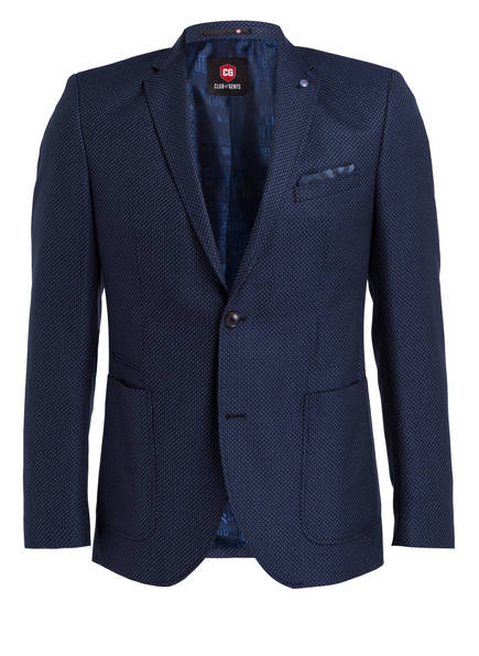 CG CLUB of GENTS Sakko ADKYN Tailored Fit, Farbe: NAVY (Bild 1)