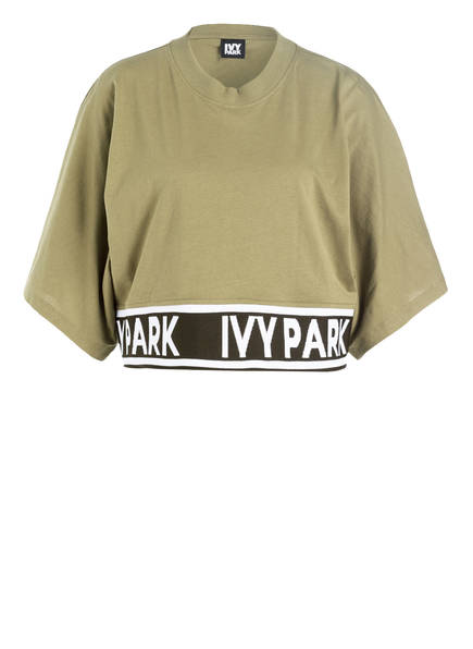 IVY PARK Cropped-Top, Farbe: OLIV (Bild 1)