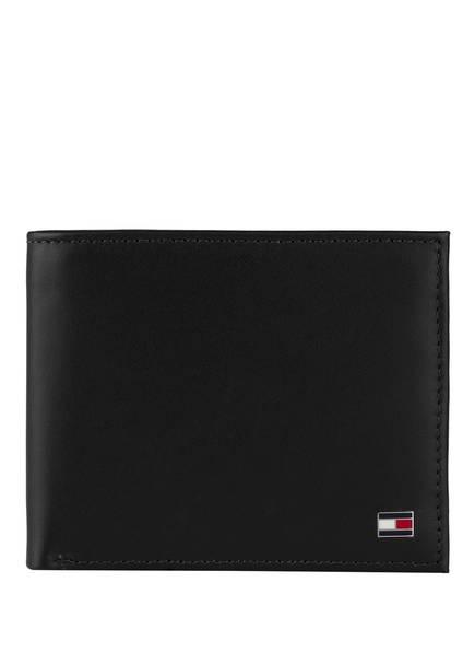 TOMMY HILFIGER Geldbörse ohne Münzfach, Farbe: SCHWARZ (Bild 1)
