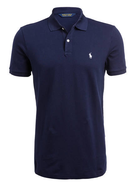 POLO GOLF RALPH LAUREN Piqué-Poloshirt, Farbe: NAVY (Bild 1)