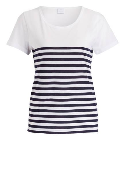 Weiss shirt Cashmere Ftc Blau T Gestreift Uf4BgqwHx