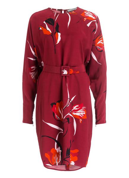 GESTUZ Kleid SILLE, Farbe: WEINROT/ SCHWARZ/ HELLROSA  (Bild 1)