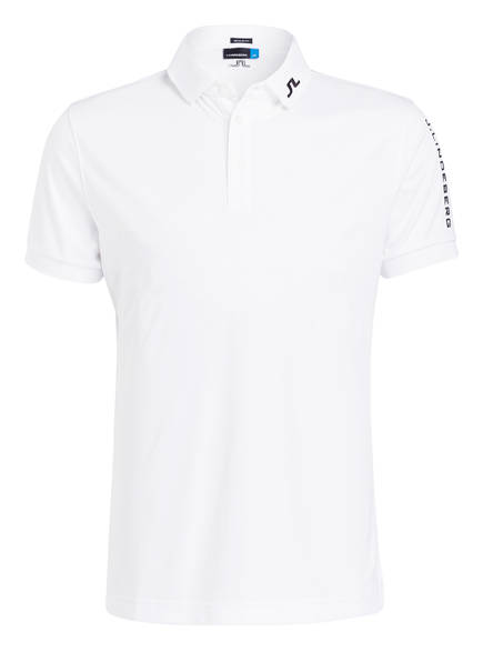 J.LINDEBERG Funktions-Poloshirt , Farbe: WEISS (Bild 1)