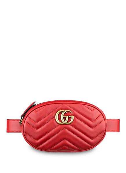 GUCCI Gürteltasche GG MARMONT, Farbe: HIBISCUS RED (Bild 1)
