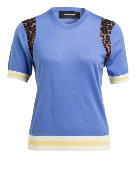 DSQUARED2 Pullover, Farbe: BLAU/ BRAUN/ ECRU (Bild 1)