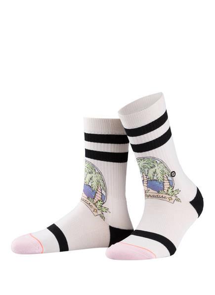 STANCE Socken PARADISE POP, Farbe: NATUR/ ROSA (Bild 1)
