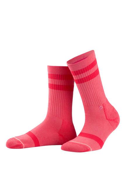 STANCE Socken CLASSIC UNCOMMON CREW, Farbe: ROT (Bild 1)