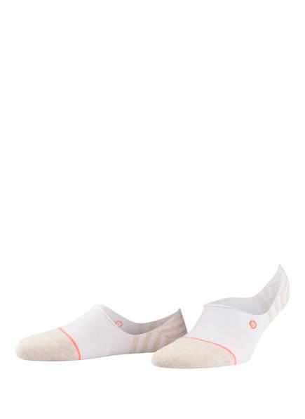 STANCE Sneakersocken UNCOMMON INVISIBLE, Farbe: WEISS/ BEIGE (Bild 1)