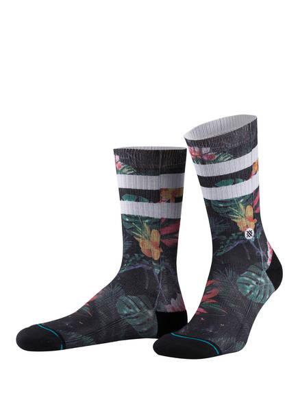 STANCE Socken BAGHEERA, Farbe: SCHWARZ/ ROT/ GRÜN (Bild 1)