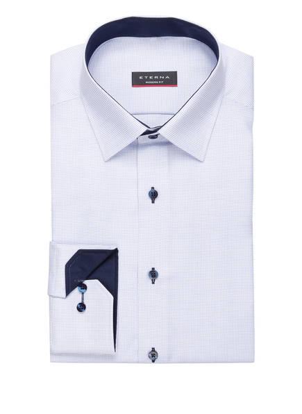 ETERNA Hemd Modern Fit, Farbe: HELLBLAU STRUKTUR (Bild 1)