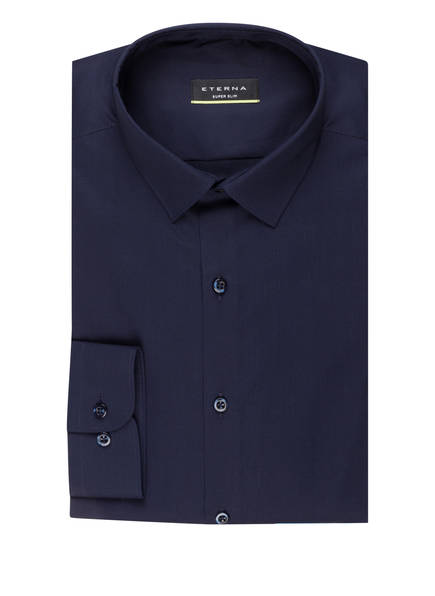 ETERNA Hemd Super Slim Fit, Farbe: NAVY (Bild 1)