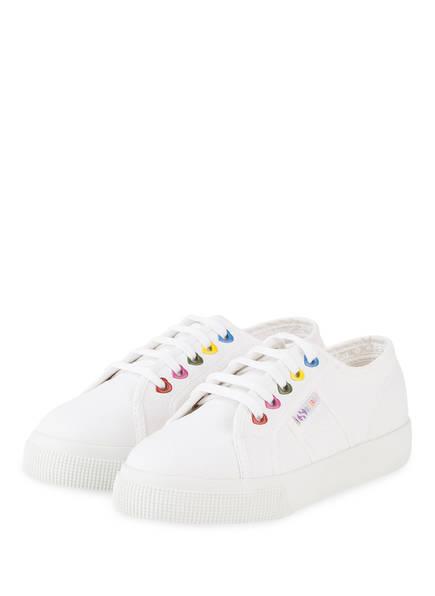 SUPERGA Sneaker COTJ COLORS, Farbe: WEISS (Bild 1)