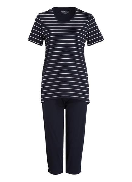 SCHIESSER Schlafanzug, Farbe: NAVY/ WEISS (Bild 1)