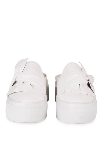 KENNEL & SCHMENGER Plateau-Slipper im Sneaker-Stil