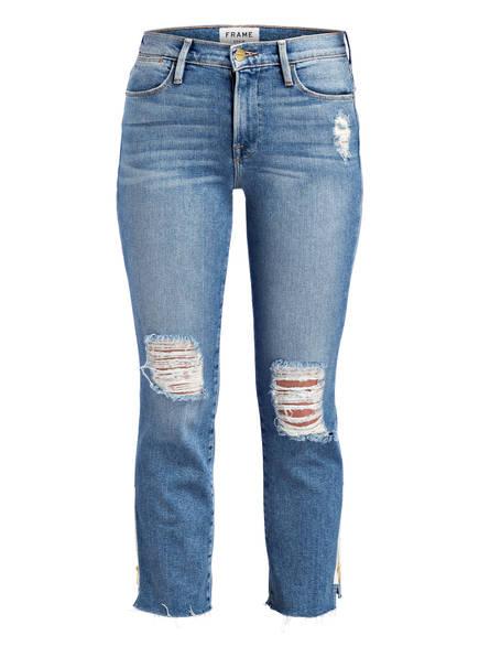 FRAME DENIM 7/8-Jeans LE HIGH STRAIGHT, Farbe: ALWY ALLOWAY BLUE (Bild 1)