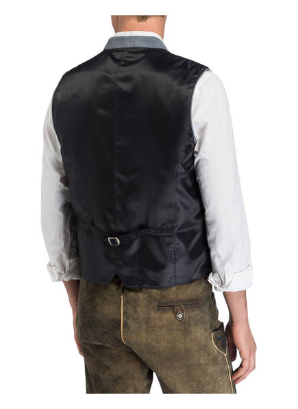 Spieth & Wensky Trachtenweste FALKO HELLBLAU - Herrenbekleidung Empfehlen