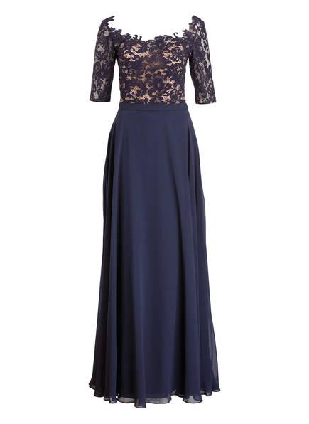 KELSEY ROSE Abendkleid, Farbe: DINKELBLAU / NUDE (Bild 1)