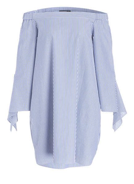 STEFFEN SCHRAUT Off-Shoulder-Kleid, Farbe: BLAU/ WEISS GESTREIFT (Bild 1)