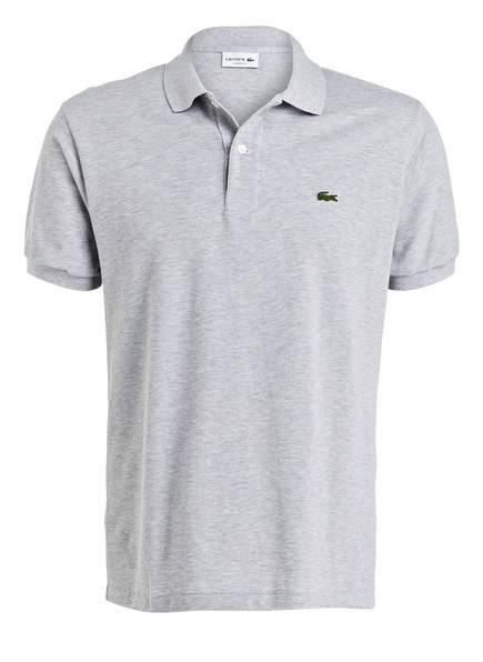 LACOSTE Piqué-Poloshirt Classic Fit, Farbe: GRAU MELIERT (Bild 1)