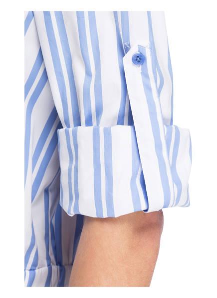 Blusenkleid Windsor Weiss Gestreift Windsor Hellblau Hellblau Blusenkleid Gestreift Weiss Windsor Blusenkleid RqwxEB5E