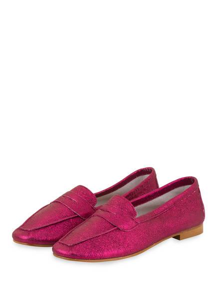 DARLING HARBOUR Penny-Loafer, Farbe: FUCHSIA (Bild 1)