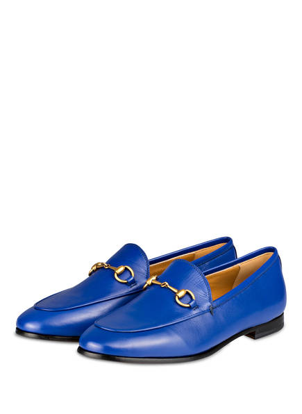 GUCCI Loafer JORDAAN, Farbe: ELECTRIC BLUE (Bild 1)