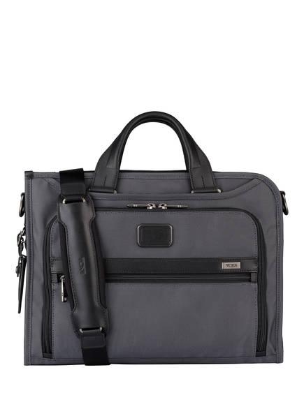 TUMI ALPHA 2 Business-Tasche DELUXE PORTFOLIO, Farbe: GRAU (Bild 1)