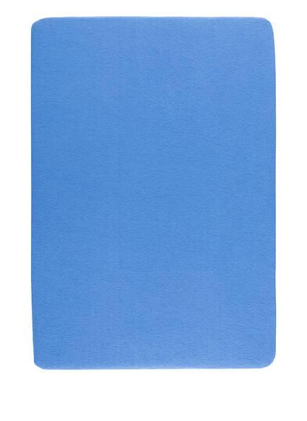 EB HOME Spannbetttuch, Farbe: BLAU (Bild 1)