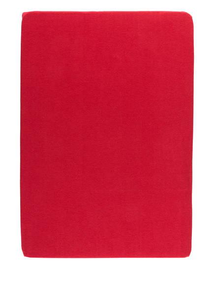 EB HOME Spannbetttuch, Farbe: ROT (Bild 1)