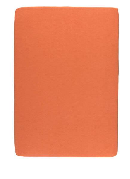 EB HOME Spannbetttuch, Farbe: ORANGE (Bild 1)