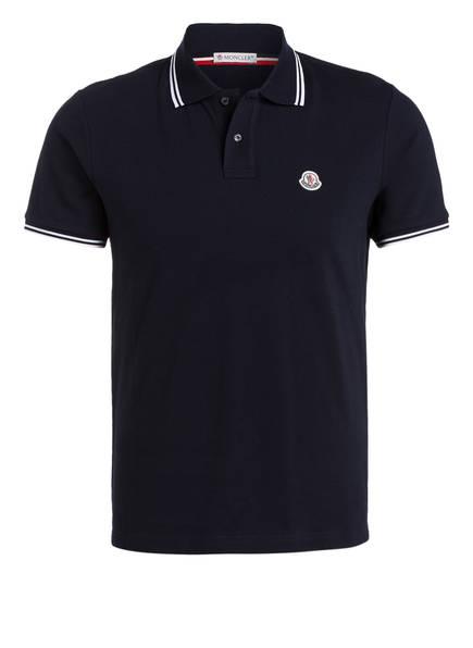 MONCLER Piqué-Poloshirt , Farbe: NAVY (Bild 1)