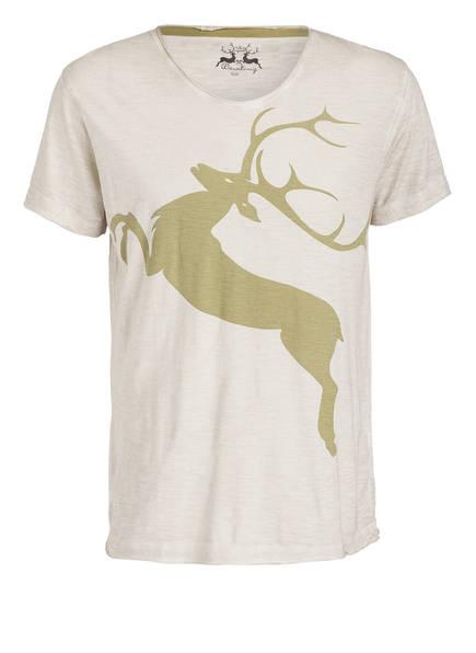 Wiesnkönig T-Shirt , Farbe: OLIV/ CREME MELIERT (Bild 1)