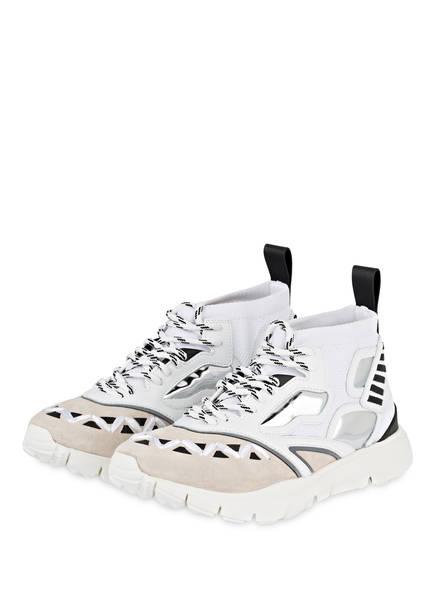 VALENTINO GARAVANI Hightop-Sneaker HEROES REFLEX, Farbe: WEISS/ ECRU/ SILBER (Bild 1)