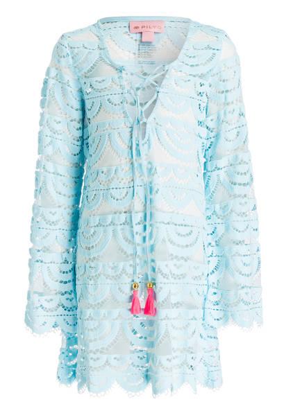 PILYQ Strandkleid aus Spitze, Farbe: HELLBLAU (Bild 1)